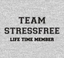 Team STRESSFREE, life time member Kids Clothes