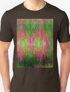 Lime and pink fury abstract. T-Shirt