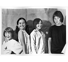 Four kids, March 1981 Poster