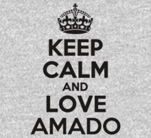 Keep Calm and Love AMADO Kids Clothes
