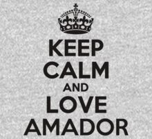 Keep Calm and Love AMADOR Kids Clothes