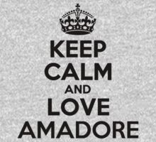 Keep Calm and Love AMADORE Kids Clothes