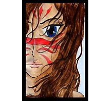 Warrior Girl Photographic Print