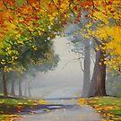 Road Through Mt Wilson by Graham Gercken