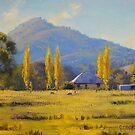 Autumn In Tumut, nsw by Graham Gercken