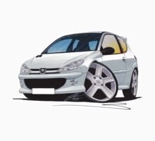 Peugeot 206 GTi Silver by Richard Yeomans
