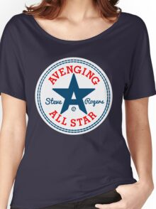 Avenging All Star (Tri-Color) Women's Relaxed Fit T-Shirt