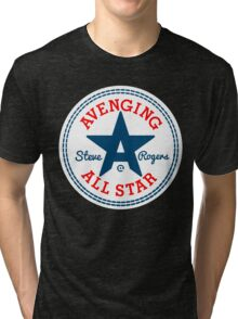 Avenging All Star (Tri-Color) Tri-blend T-Shirt