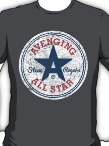 Avenging All Star (Tri-Color Distressed) T-Shirt