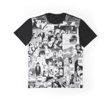 Manga Collage Graphic T-Shirt