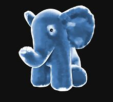 Blue Stuffed Elephant Zipped Hoodie