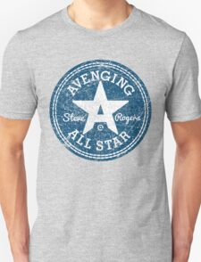 Avenging All Star (Two-Color Distressed) Unisex T-Shirt