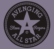 Avenging All Star (Black) Kids Clothes