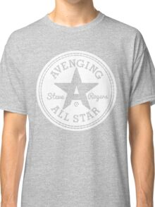 Avenging All Star (White) Classic T-Shirt