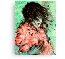 Drowning In A Sea Of Sorrows, Saying Goodbye To All Tomorrows #2 Canvas Print