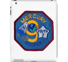 Mercury-Atlas 9 (Faith 7) Misson Logo iPad Case/Skin