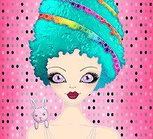 Ester the Easter Egg Lady by Monique Stute