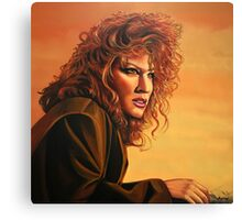 Bette Midler painting Canvas Print