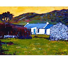 Cottage from Sheep Field Photographic Print