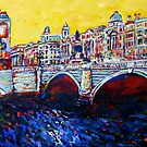 O'Connell Bridge, Dublin by eolai