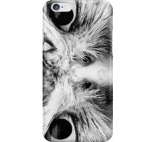 Barred Owl in Black and White iPhone Case/Skin