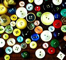 Buttons 2 by Kaye Miller-Dewing