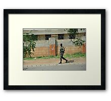 South Sudan Independence Day2 Framed Print