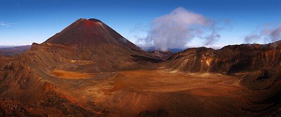 Land of Mordor - Tongariro Crossing  New Zealand by Mark Shean