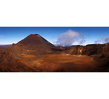 Land of Mordor - Tongariro Crossing  New Zealand Photographic Print