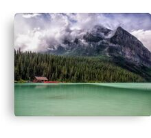 Majesty at the Lake Canvas Print