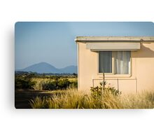Fibro-cement home with a view Metal Print