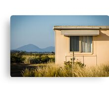 Fibro-cement home with a view Canvas Print