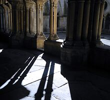 Oporto Cathedral Cloister by Sue Ballyn