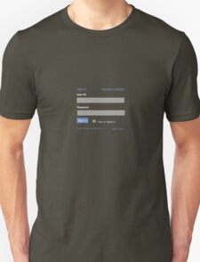 Sign in t T-Shirt
