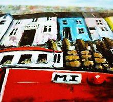 Smugglers Row Zoom 3 by Kaye Miller-Dewing