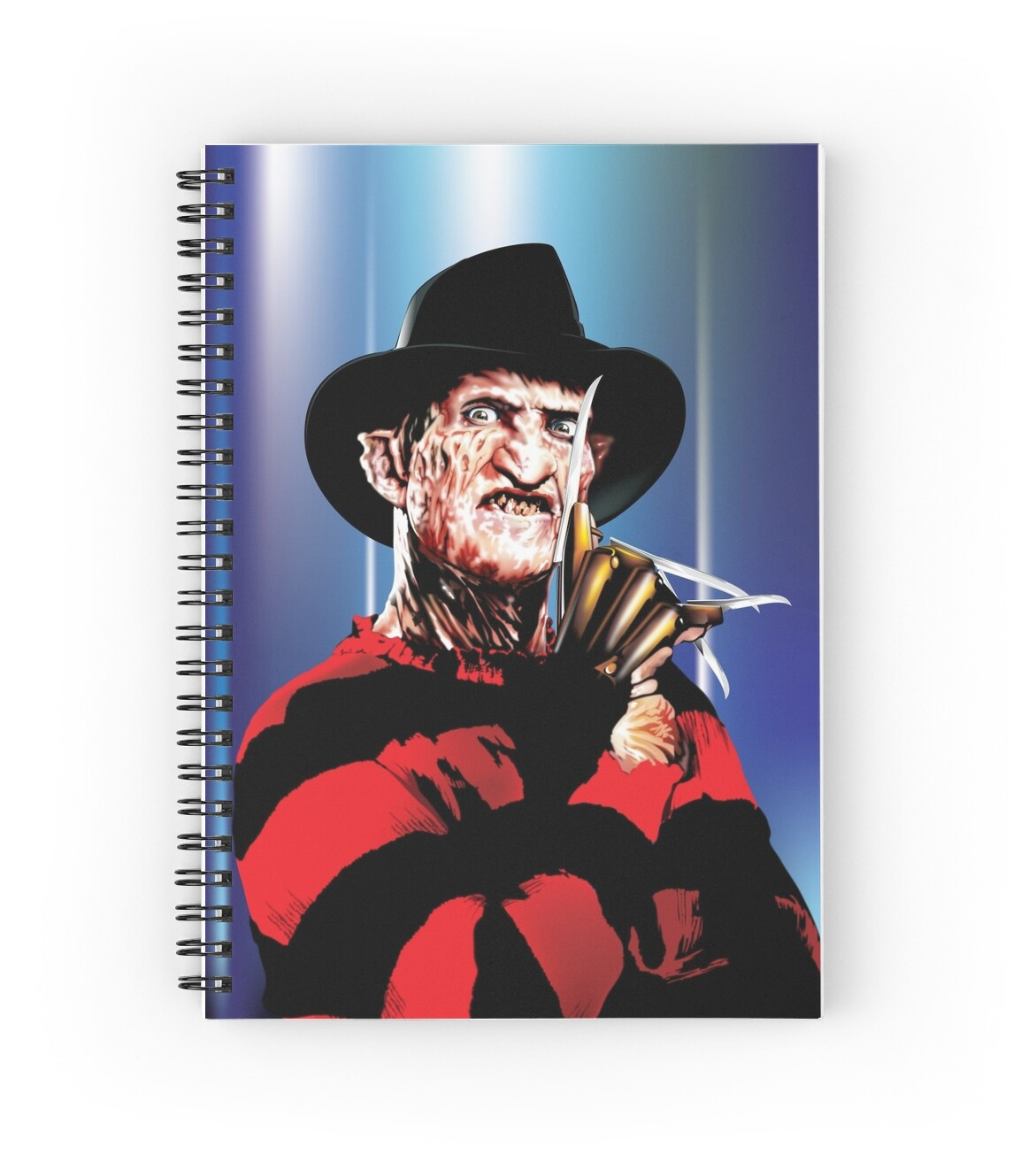 Quot Freddy Quot Spiral Notebooks By Brian Gibbs Redbubble