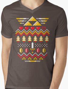 TRIFORCE HOLIDAY Mens V-Neck T-Shirt
