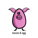 bacon & egg by Mariette (flowie) van den Heever