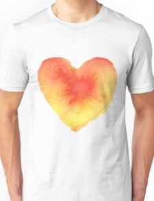 Radiating Heart Unisex T-Shirt