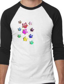 Owls # 2 Men's Baseball ¾ T-Shirt