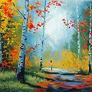 Autumn Stroll by Graham Gercken