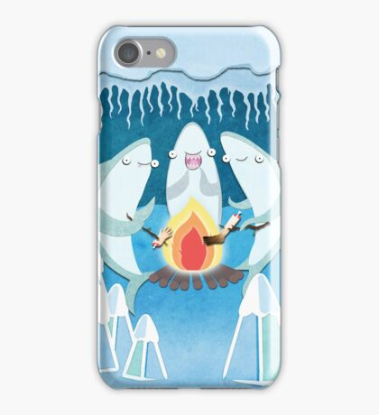 A Shiver of Sharks iPhone Case/Skin