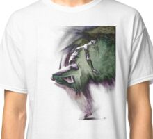 Fount i, conté drawing - textured   Classic T-Shirt