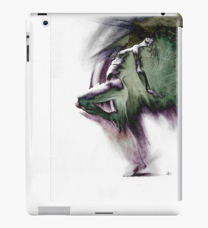 Fount i, conté drawing - textured   iPad Case/Skin