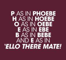 P as in Pheobe by tomoxnam