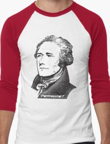 Alexander Hamilton Men's Baseball ¾ T-Shirt