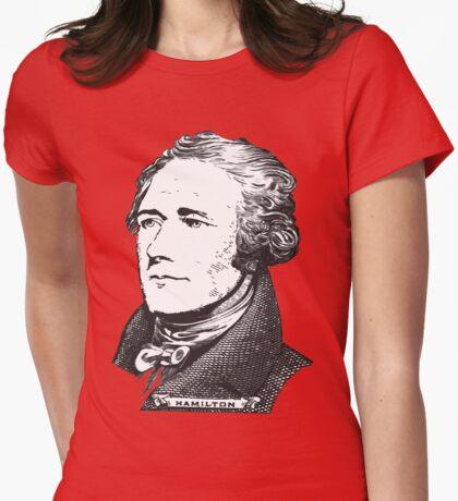 Alexander Hamilton Womens Fitted T-Shirt