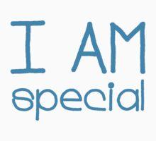I AM SPECIAL - blue Kids Clothes