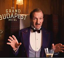 The Grand Budapest Hotel : M. Gustave by raoulbhand