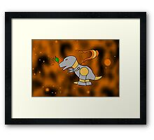 Leave on the Wind 2.0 Framed Print